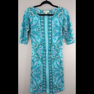 MICHAEL Michael Kors Paisley Dress Size 4